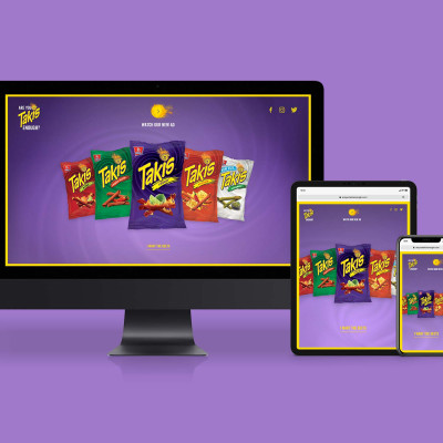 Are You Takis Enough Campaign Website Design